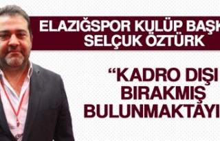 Birevim Elazığspor'da O Futbolcu Kadro Dışı...