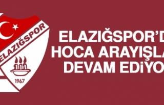 Birevim Elazığspor'da Hoca Arayışları Devam...