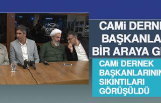 Cami Dernek Başkanları Bir Araya Geldi