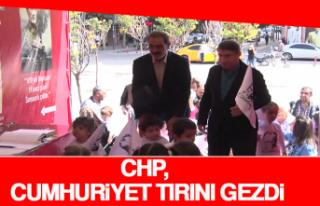 CHP, Cumhuriyet Tırını Gezdi