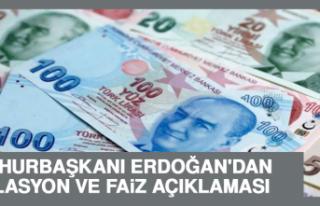 Cumhurbaşkanı Erdoğan'dan Enflasyon ve Faiz...