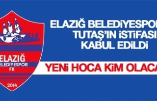 Elazığ Belediyespor'da Tutaş'ın İstifası...