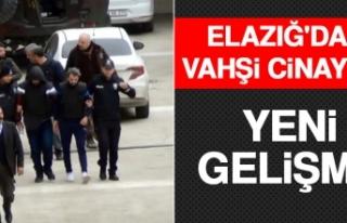 Elazığ'daki Vahşi Cinayete Yeni Gelişme