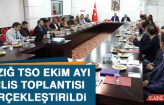 Elazığ TSO Meclis Toplantısında 'Ekonominin...