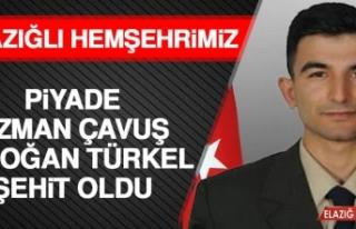 Elazığlı Hemşehrimiz Piyade Uzman Çavuş Erdoğan...