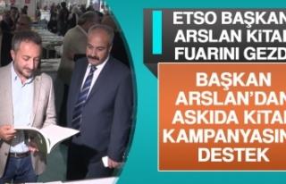 ETSO Başkanı Arslan Kitap Fuarını Gezdi