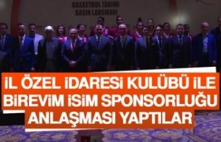 İÖİ Kulübü İle Birevim İsim Sponsorluğu Anlaşması...
