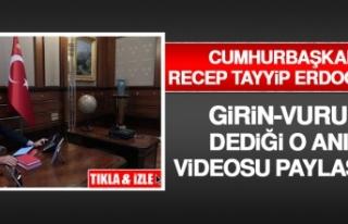 Cumhurbaşkanı Erdoğan'ın Hareket Emrini Verdiği...