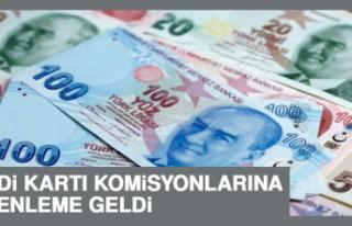 Kredi Kartı Komisyonlarına Düzenleme Geldi