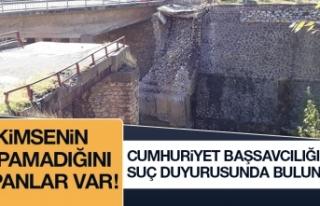 Maden Cumhuriyet Başsavcılığı'na Suç Duyurusunda...