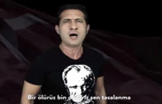Şarkıcı Kıraç'ın Seslendirdiği Vatan Marşı,...