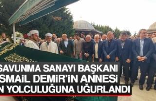 Savunma Sanayi Başkanı Demir'in Annesi Son Yolculuğuna...