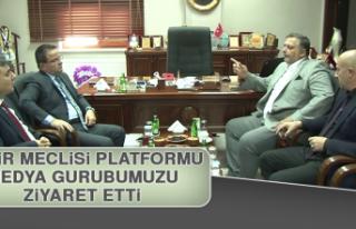 Şehir Meclisi Platformu Medya Gurubumuzu Ziyaret...