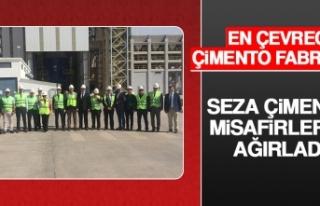 Seza Çimento Misafirlerini Ağırladı