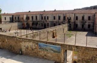 Tarihi Sinop Cezaevi'nde restorasyon çalışmaları...