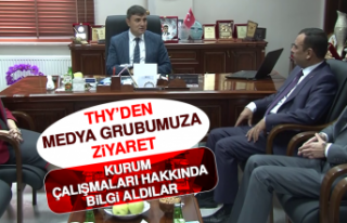 THY'den Medya Grubumuza Ziyaret