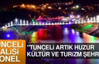 Tunceli Doğal Güzelliklerinin Yanı Sıra Su Sporlarında...
