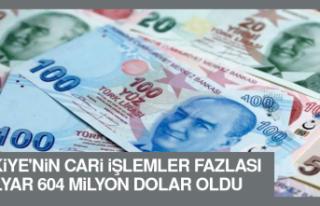 Türkiye'nin Cari İşlemler Fazlası Ağustos'ta...