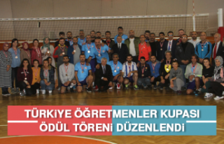 Türkiye Öğretmenler Kupası Ödül Töreni Düzenlendi
