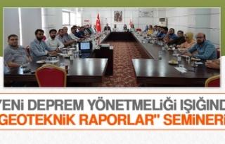 """""""Yeni Deprem Yönetmeliği Işığında Geoteknik..."""