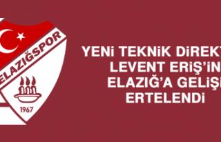 Yeni Teknik Direktör Eriş'in Elazığ'a Gelişi...
