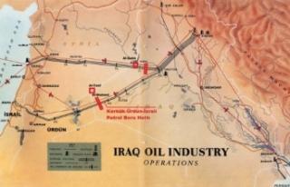 85 Yıllık Plan İşliyor Kerkük Petrolü İsrail'e...