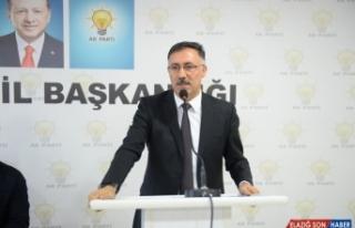 AK Parti Iğdır İl Başkanı Tutulmaz görevinden...