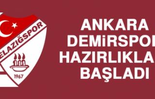 Ankara Demirspor Hazırlıkları Başladı