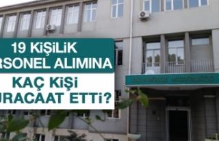 DSİ'nin 19 Kişilik İşçi Alımına Kaç Kişi...