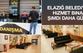 Elazığ Belediyesi Hizmet Binası Giriş Katı Yenilendi