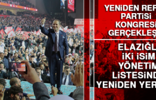 Elazığlı İki İsim Yeniden Refah Partisi'nin...