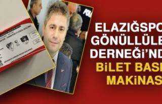 Elazığspor Gönüllüleri Derneğin'nden Bilet...