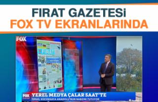 Fırat Gazetesi Fox TV Ekranlarında