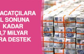 İhracatçılara Yıl Sonuna Kadar 3,7 Milyar Lira...
