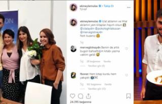 MasterChef Ekin, ünlü oyuncu İclal Aydın'ın...