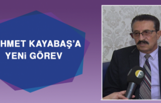 Mehmet Kayabaş'a Yeni Görev
