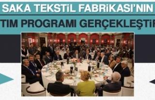 Saka Tekstil Fabrikası'nın Tanıtım Programı...