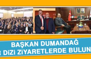 Başkan Dumandağ Ankara'da Bir Dizi Ziyaretlerde...