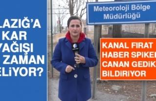 Beklenen Haber Geldi! Elazığ'da Kar Yağışı...