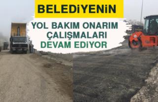 Belediyenin Yol Bakım Onarım Çalışmaları
