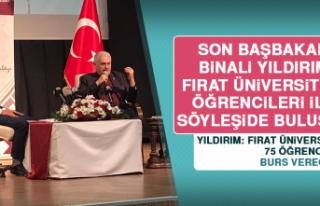 Binali Yıldırım, Fırat Üniversitesi Öğrencileri...