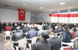 Bitlis Valisi Çağatay'dan şehit ailesine taziye...