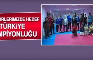 Boksörlerimizde Hedef Türkiye Şampiyonluğu