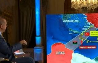 Cumhurbaşkanı Erdoğan: Libya İle Yapılan Mutabakat...