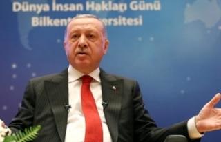 """Cumhurbaşkanı Erdoğan'a """"İdolünüz Kim?""""..."""
