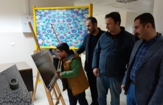 Diyarbakır BİLSEM'de anlamlı sergi