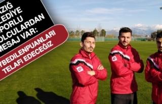 Elazığ Belediye Sporlu Futbolculardan Mesaj Var