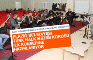 Elazığ Belediyesi Türk Halk Müziği Korosu İlk...