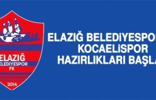 Elazığ Belediyespor'da Kocaelispor Hazırlıkları...