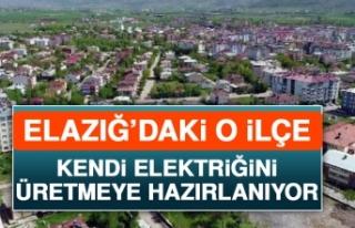 Elazığ'daki O İlçe Kendi Elektriğini Üretmeye...